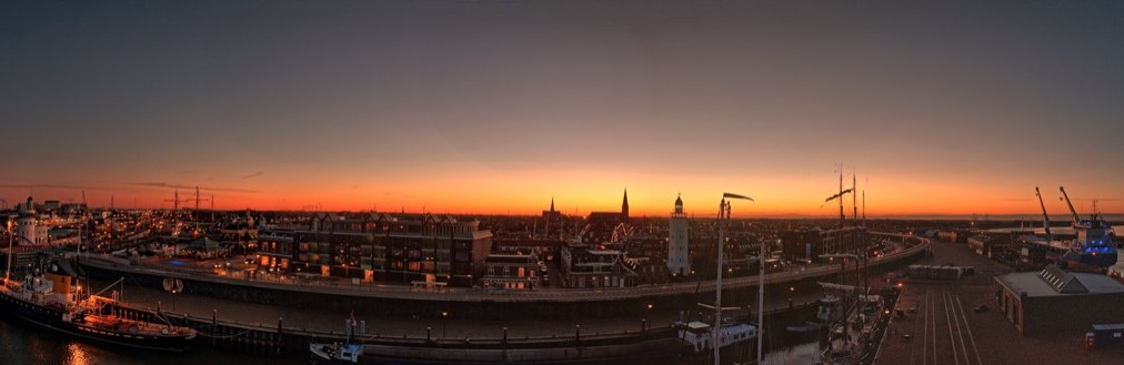 Panorama Harlingen
